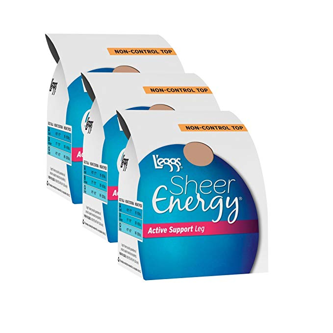 L'eggs Sheer Energy Active Support Regular Pantyhose