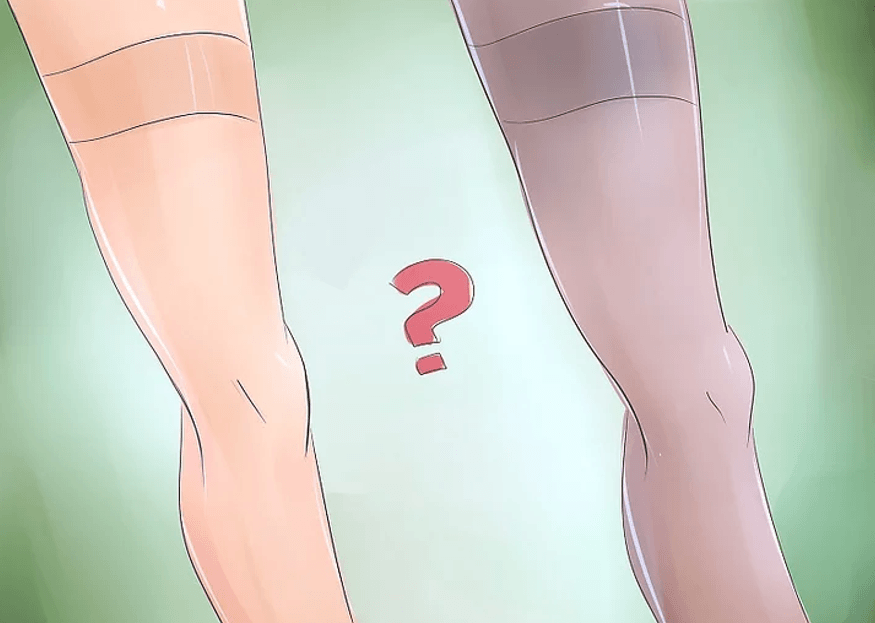 put on men pantyhose