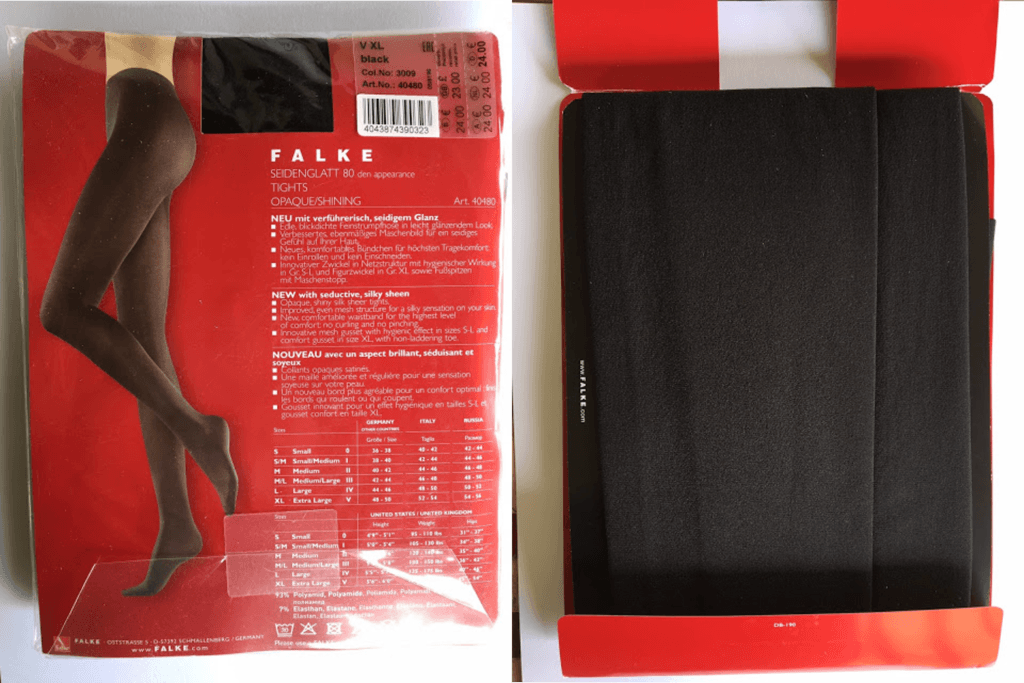 Men Buy Tights - Falke Seidenglatt 80