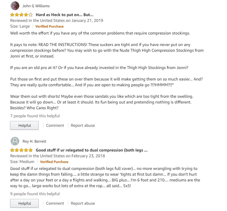 Best 3 compression pantyhose for men reviews 7