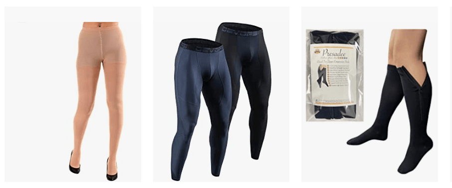 Men Wearing Pantyhose Prevent Blood Clots & Swollen Ankles