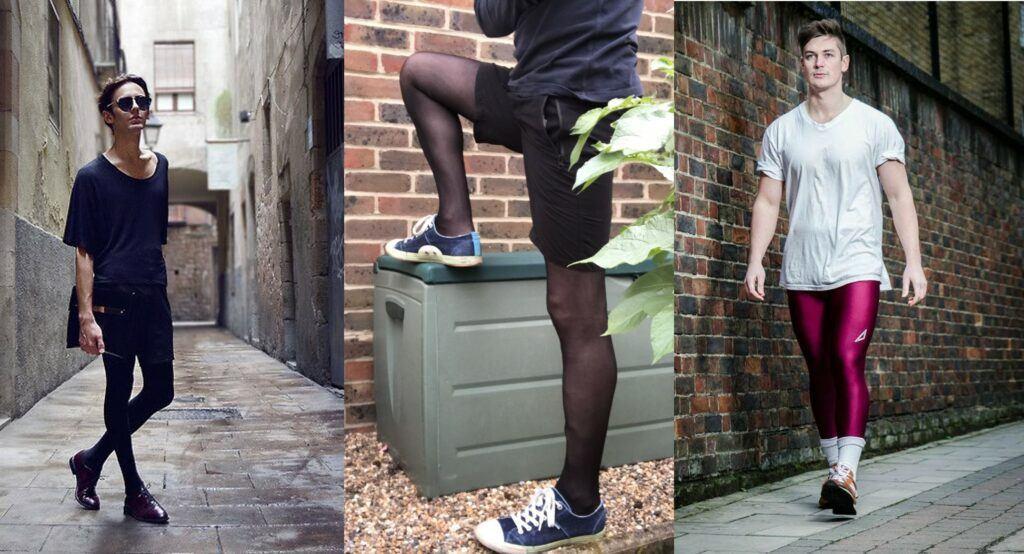 Men Wearing Pantyhose For Sport
