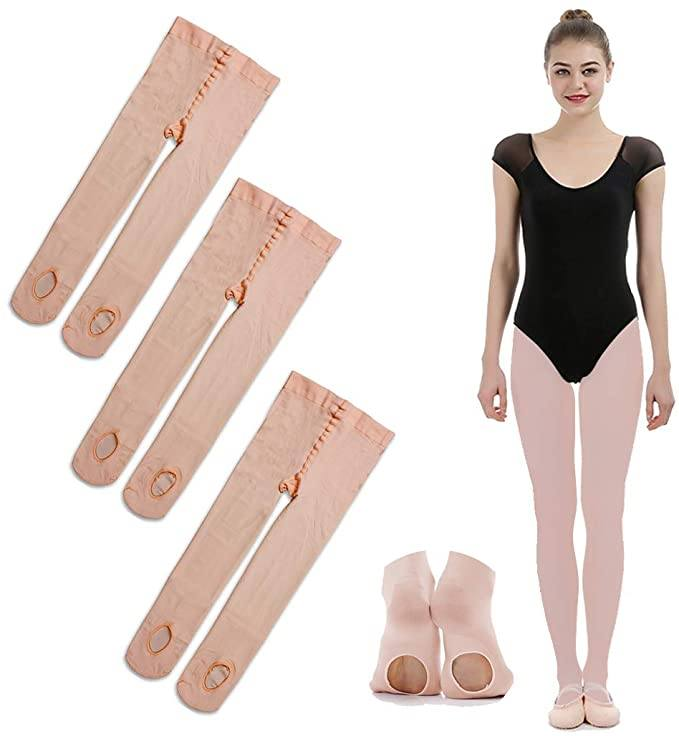 What are the differences between ballet stockings and pantyhose? 1