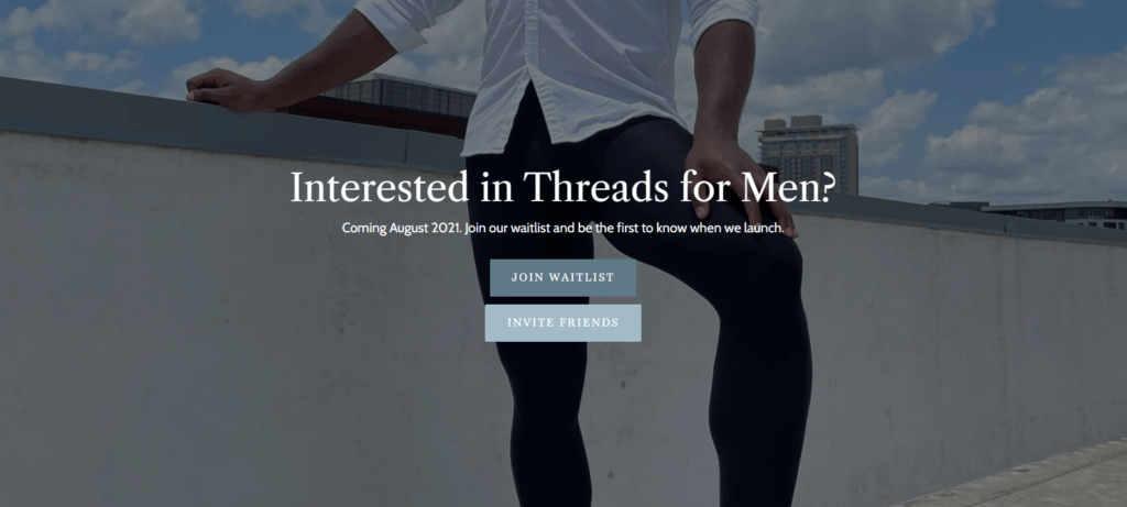 Threads Tights For Men Coming in July
