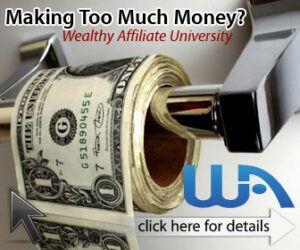 wealthy affiliate earn money